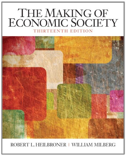 Making of Economic Society  13th 2012 (Revised) edition cover