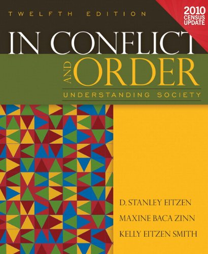 In Conflict and Order Understanding Society, Census Update 12th 2012 (Revised) edition cover