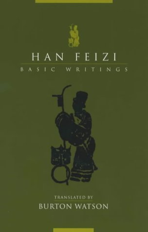 Han Feizi Basic Writings  2003 edition cover