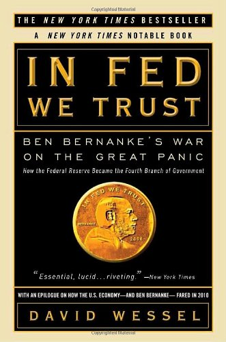 In Fed We Trust Ben Bernanke's War on the Great Panic N/A edition cover
