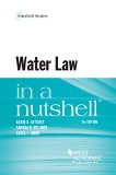 Water Law in a Nutshell, 5th  5th 2015 edition cover
