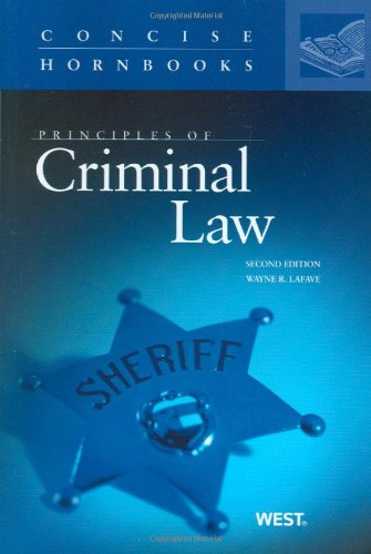 Principles of Criminal Law, 2D  2nd 2010 (Revised) edition cover