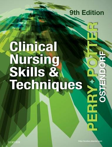 Clinical Nursing Skills and Techniques  9th 2018 9780323400695 Front Cover