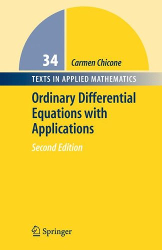 Ordinary Differential Equations with Applications  2nd 2006 (Revised) edition cover