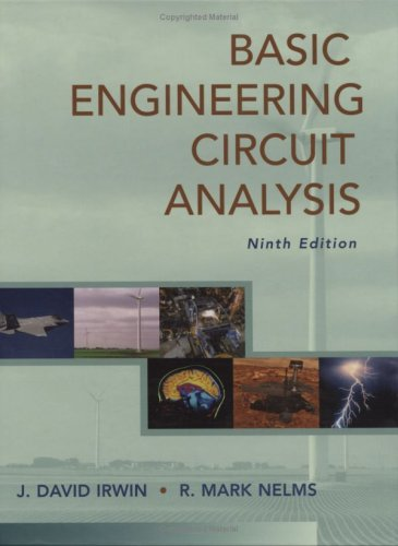 Basic Engineering Circuit Analysis  9th 2008 edition cover