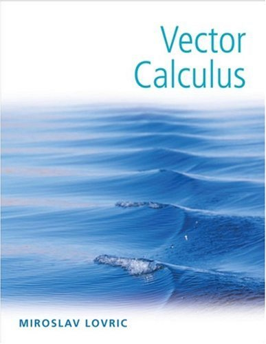 Vector Calculus   2007 edition cover