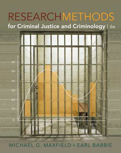 Research Methods for Criminal Justice and Criminology  6th 2011 edition cover