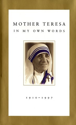 Mother Teresa In My Own Words  1996 edition cover