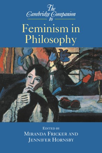 Cambridge Companion to Feminism in Philosophy   2000 9780521624695 Front Cover