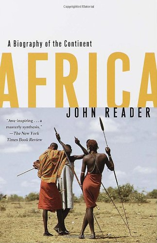Africa A Biography of the Continent N/A edition cover