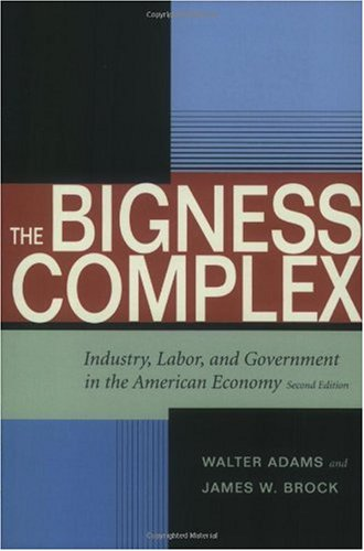 Bigness Complex Industry, Labor, and Government in the American Economy 2nd 2004 9780804749695 Front Cover