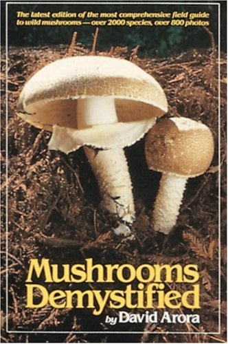 Mushrooms Demystified  2nd (Revised) edition cover