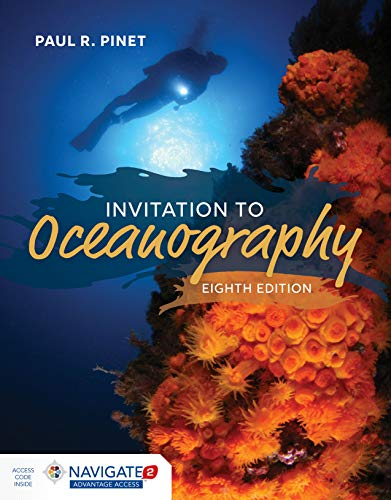 Cover art for Invitation to Oceanography, 8th Edition