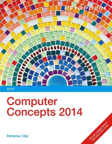 New Perspectives on Computer Concepts 2014: Brief 16th 2013 edition cover
