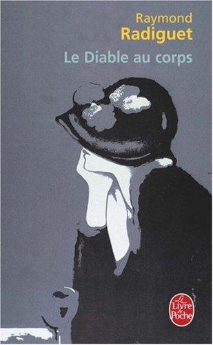Le Diable Au Corps:  1st 1987 edition cover