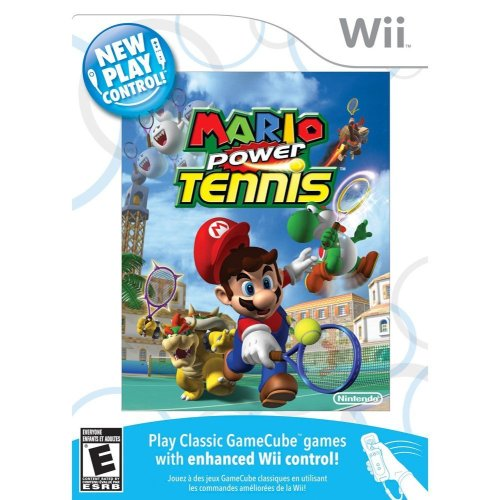 New Play Control! Mario Power Tennis - Nintendo Wii Nintendo Wii artwork