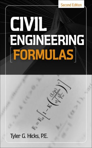 Civil Engineering Formulas  2nd 2010 edition cover