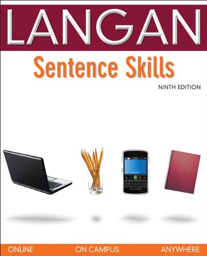 Sentence Skills  9th 2011 (Workbook) edition cover