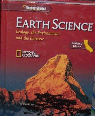 Glencoe Science - Earth Science California Edition:  2007 edition cover