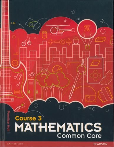 Mathematics Common Core Course 3 1st edition cover