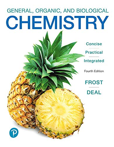 General, Organic, and Biological Chemistry:   2019 9780134988696 Front Cover