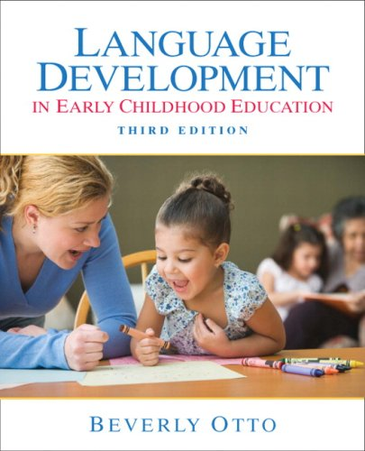 Language Development in Early Childhood Education  3rd 2010 9780135019696 Front Cover