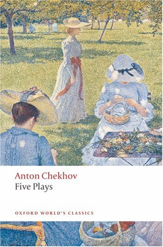 Five Plays Ivanov, the Seagull, Uncle Vanya, Three Sisters, and the Cherry Orchard  2008 edition cover