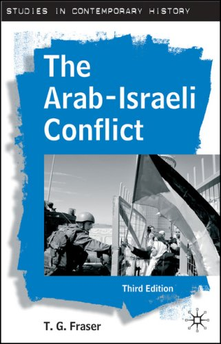 Arab-Israeli Conflict  3rd 2007 (Revised) 9780230004696 Front Cover