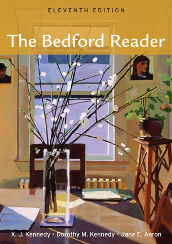 Bedford Reader  11th 2012 edition cover