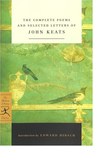 Complete Poems and Selected Letters of John Keats   2001 edition cover