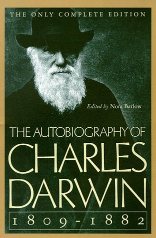 Autobiography of Charles Darwin, 1809-1882  Reprint edition cover