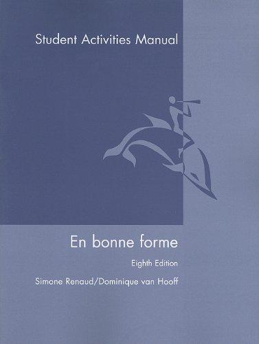 En Bonne Forme  8th 2007 edition cover