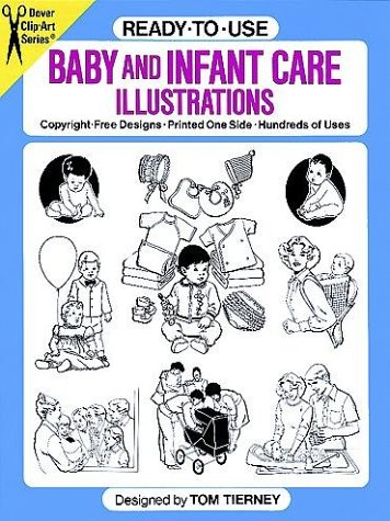 Ready-to-Use Baby and Infant Care Illustrations  N/A 9780486256696 Front Cover