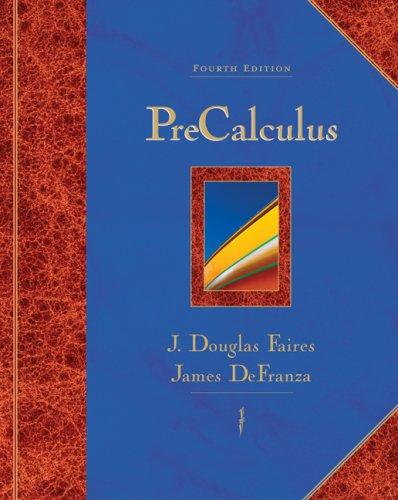Precalculus  4th 2007 edition cover
