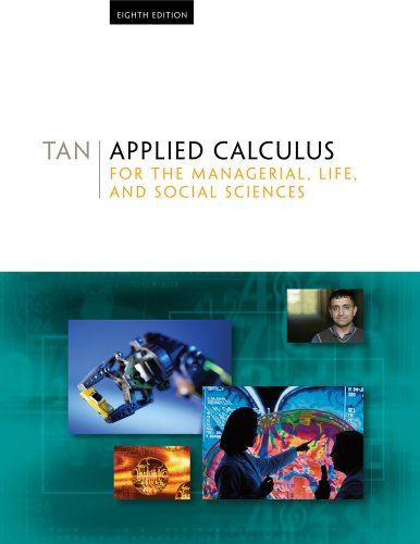 Applied Calculus for the Managerial, Life, and Social Sciences  8th 2011 edition cover