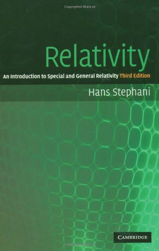 Relativity An Introduction to Special and General Relativity 3rd 2003 (Revised) edition cover