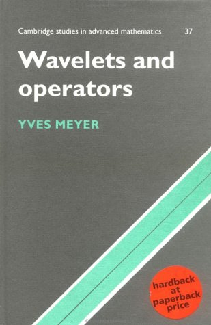 Wavelets and Operators  N/A 9780521458696 Front Cover