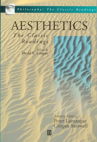 Aesthetics The Classic Readings  1997 edition cover