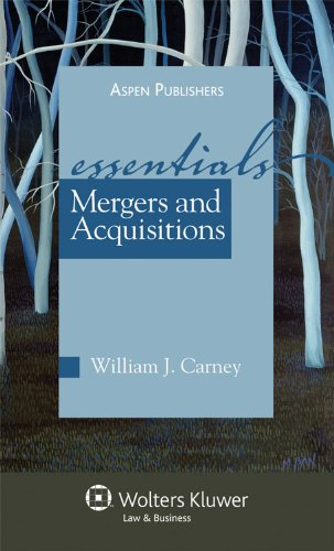 Mergers and Acquisitions The Essentials  2009 (Student Manual, Study Guide, etc.) edition cover