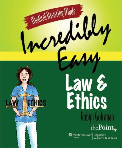 Law and Ethics   2009 edition cover