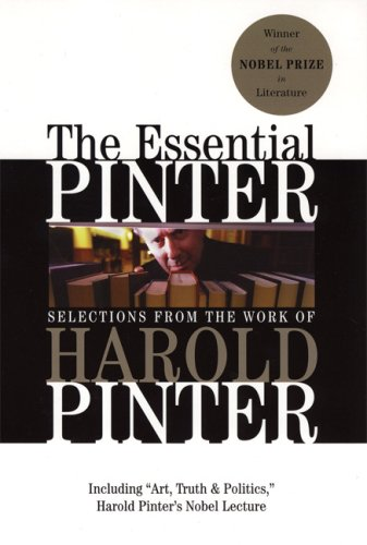 Essential Pinter Selections from the Work of Harold Pinter  2006 edition cover