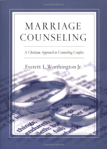 Marriage Counseling A Christian Approach to Counseling Couples Reprint  9780830817696 Front Cover