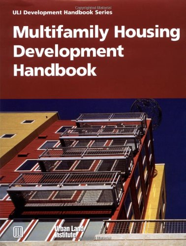 Multifamily Housing Development Handbook   2000 edition cover