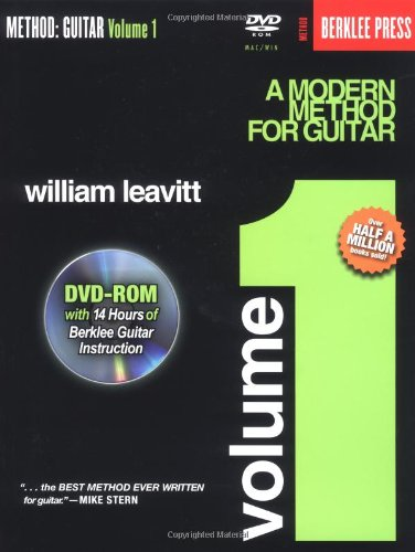 Method Guitar - A Modern Method for Guitar - Volume 1 N/A edition cover