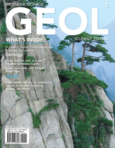 GEOL  2nd 2013 (Revised) 9781133108696 Front Cover