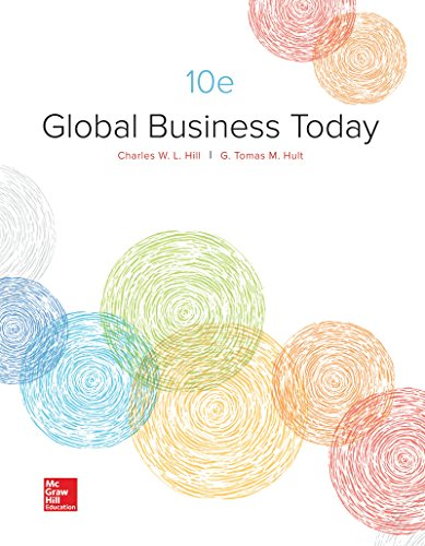 Global Business Today:  10th 2017 9781259686696 Front Cover