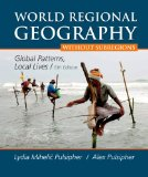 World Regional Geography Without Subregions:   2013 9781464110696 Front Cover