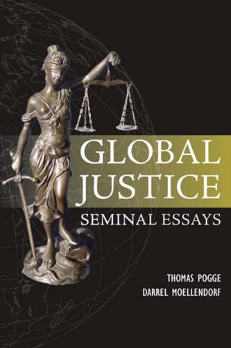 Global Justice Seminal Essays  2008 edition cover