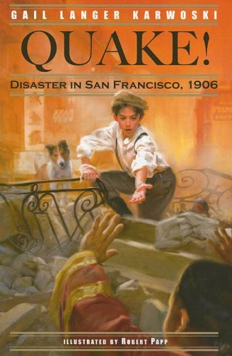 Quake! Disaster in San Francisco 1906  2004 edition cover