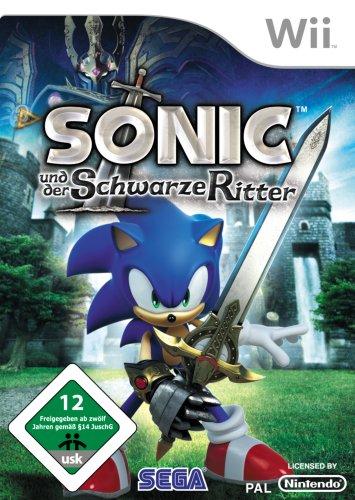 Sonic und der Schwarze Ritter Nintendo Wii artwork